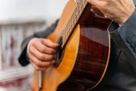 Apprentissage de la guitare