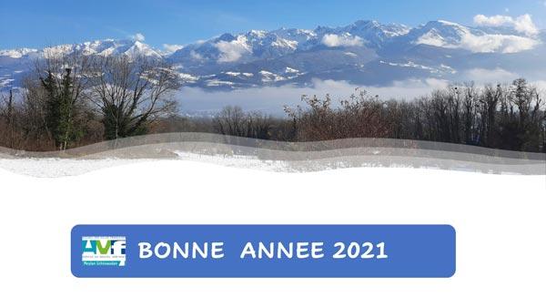 bonne année 2021 de la part de AVF MEylan
